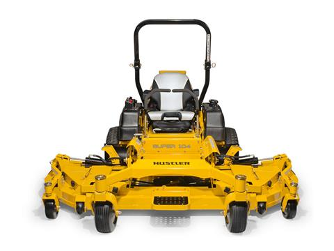 2018 Hustler Turf Equipment Super 104 in. Vanguard Big Block 37 hp in Port Angeles, Washington