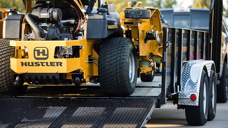 2019 Hustler Turf Equipment Super 104 Vanguard EFI in Okeechobee, Florida