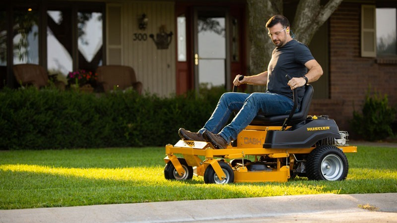 2019 Hustler Turf Equipment Dash 34 in. Briggs & Stratton 10.5 hp in Hondo, Texas - Photo 8