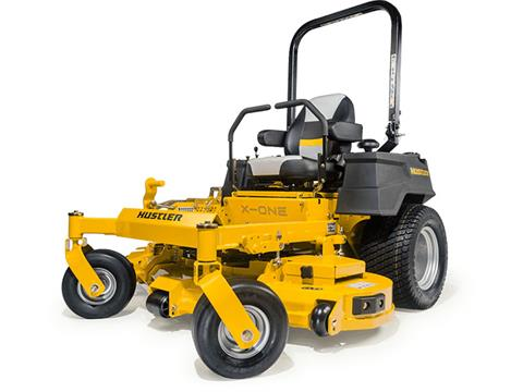 2019 Hustler Turf Equipment X-ONE 60 in. Kohler EFI Zero Turn Mower in Black River Falls, Wisconsin