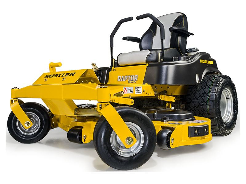 2019 Hustler Turf Equipment Raptor SDX 60 in. Kawasaki FR730 Zero Turn Mower in Russell, Kansas