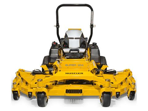 2020 Hustler Turf Equipment Super 104 in. Vanguard Big Block EFI RD 37 hp in Greenville, North Carolina