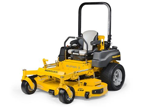 2021 Hustler Turf Equipment Super Z 60 in. Kohler 824 EFI 33 hp in Greenville, North Carolina