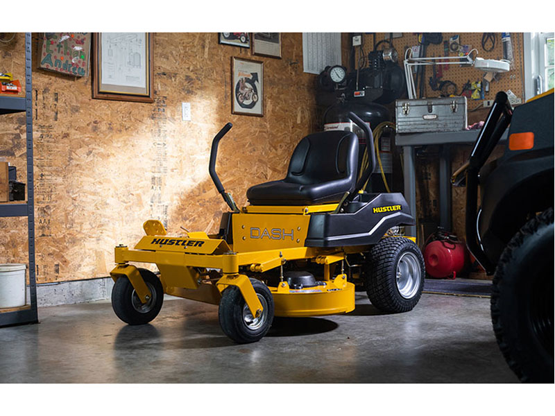 2021 Hustler Turf Equipment Dash 34 in. Briggs & Stratton 10.5 hp in New Strawn, Kansas - Photo 8