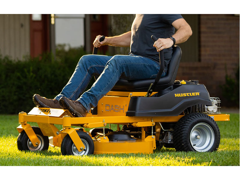 2021 Hustler Turf Equipment Dash 34 in. Briggs & Stratton 10.5 hp in Okeechobee, Florida - Photo 10