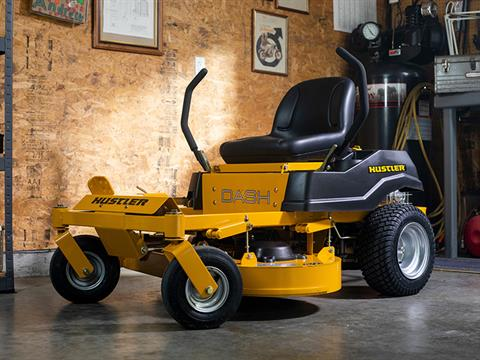 2021 Hustler Turf Equipment Dash 34 in. Briggs & Stratton Powerbuilt 10.5 hp in Jackson, Missouri - Photo 10