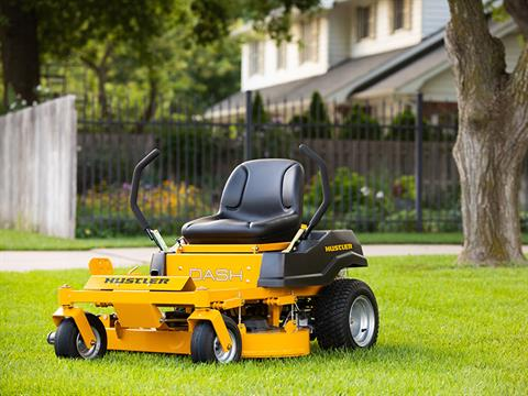 2021 Hustler Turf Equipment Dash 34 in. Briggs & Stratton Powerbuilt 10.5 hp in Jackson, Missouri - Photo 12