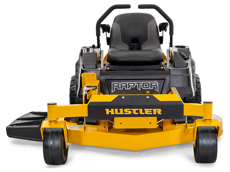 2021 Hustler Turf Equipment Raptor X Kawasaki FR600 42 in. 18 hp in Wichita Falls, Texas - Photo 2