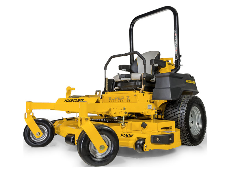 2021 Hustler Turf Equipment Super Z HyperDrive 60 in. Vanguard Big Block EFI 37 hp with Oil Guard in Eastland, Texas