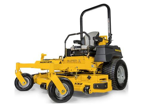 2021 Hustler Turf Equipment Super Z HyperDrive 60 in. Vanguard Big Block EFI 37 hp with Oil Guard in Harrison, Arkansas
