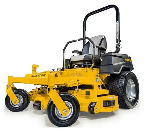 2021 Hustler Turf Equipment X-ONE 60 in. Kohler Command Pro 25 hp in Mazeppa, Minnesota