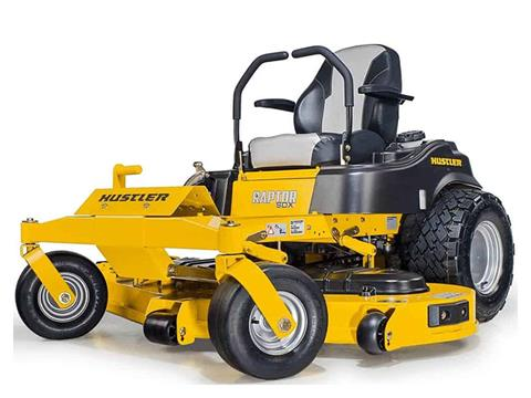 2021 Hustler Turf Equipment Raptor SDX 54 in. Kawasaki 23 hp in Greenville, North Carolina