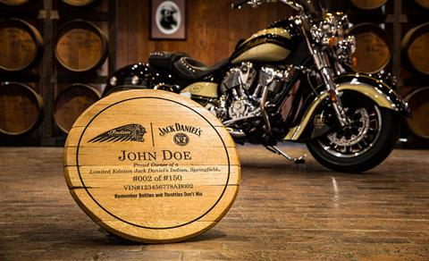 2016 Indian Springfield™ Jack Daniel's® Limited Edition in Pasco, Washington