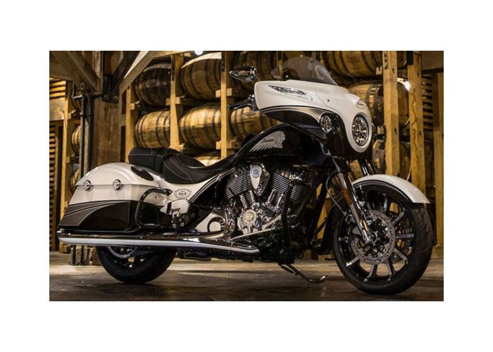 2017 Indian Chieftain® Jack Daniel's® Limited Edition in Saint Clairsville, Ohio