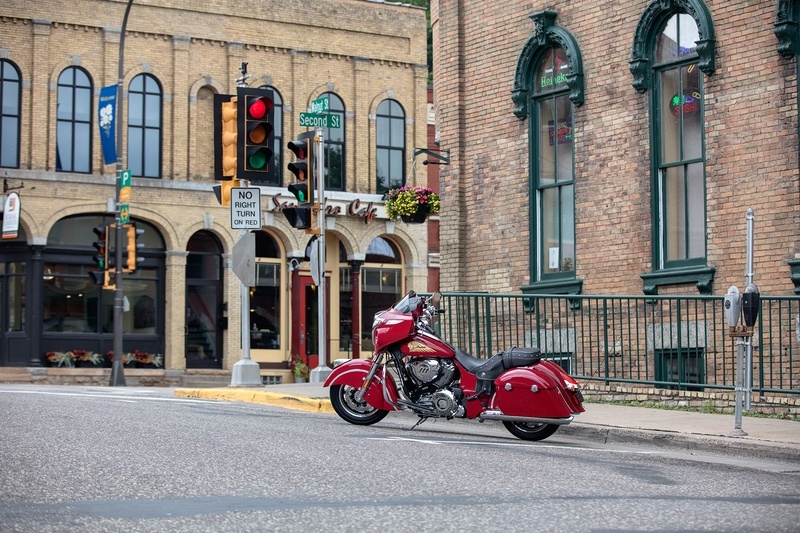 2018 Indian Chieftain® Classic in Fredericksburg, Virginia