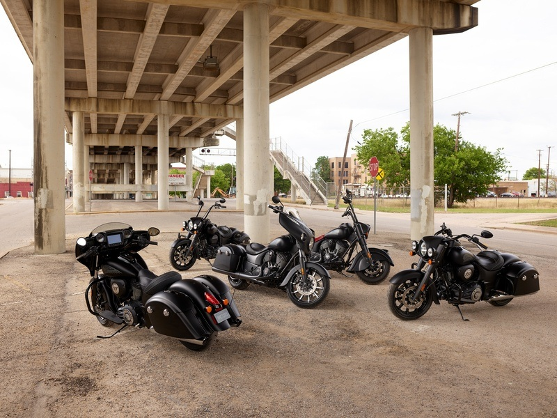 2018 Indian Chieftain Dark Horse® ABS in Fort Worth, Texas