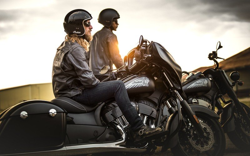 2018 Indian Chieftain Dark Horse® ABS in Racine, Wisconsin