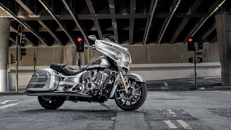 2018 Indian Chieftain Elite in Ottumwa, Iowa
