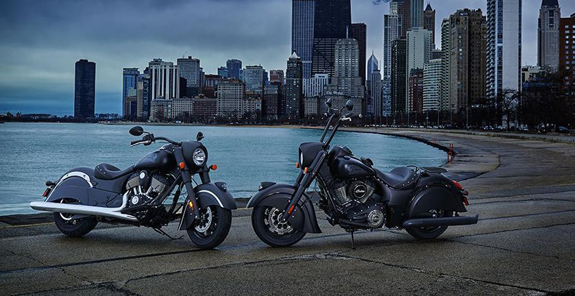 2018 Indian Chief Dark Horse® ABS in Fort Worth, Texas