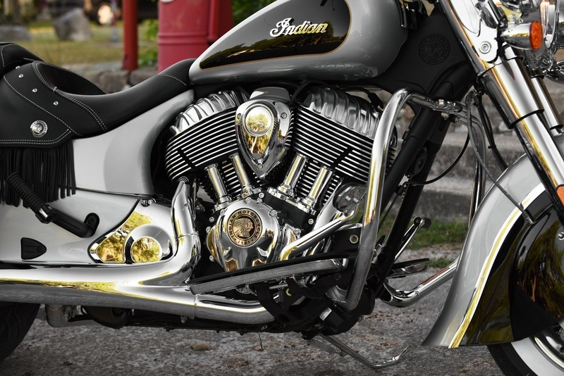 2018 Indian Chief® Vintage ABS in Muskego, Wisconsin