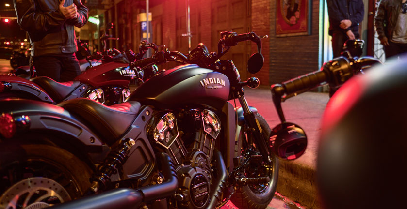 2018 Indian Scout® Bobber in Elkhart, Indiana