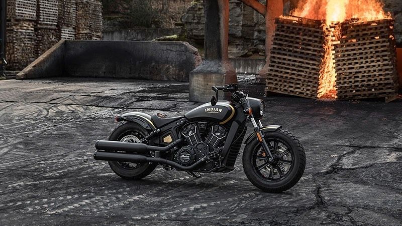 2018 Indian Scout® Bobber Jack Daniels in Mineola, New York