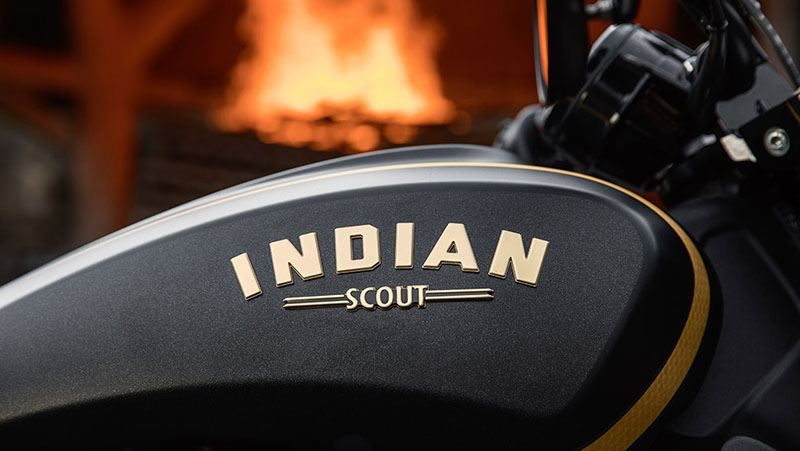 2018 Indian Scout® Bobber Jack Daniels in Palm Bay, Florida