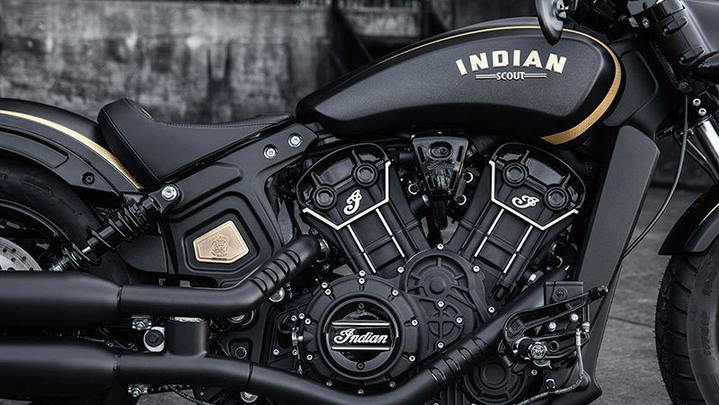 2018 Indian Scout® Bobber Jack Daniels in Saint Michael, Minnesota