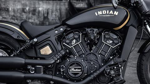 2018 Indian Scout® Bobber Jack Daniels in Dublin, California