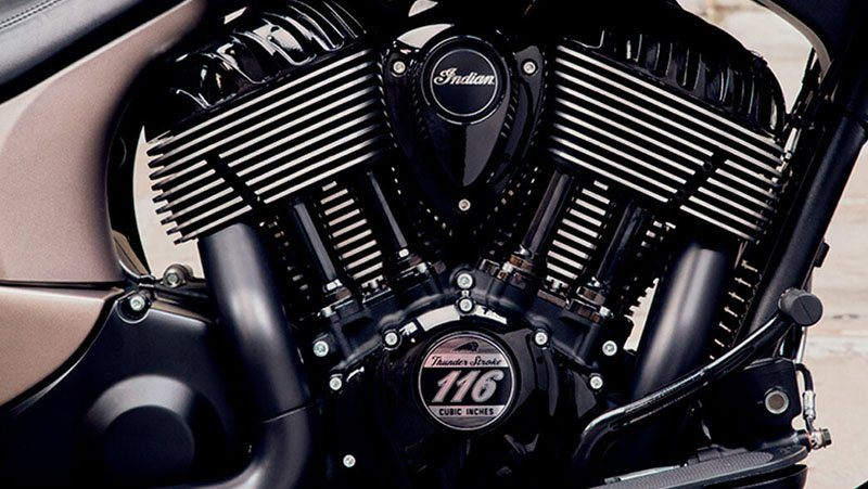 2019 Indian Chieftain® Dark Horse® ABS in Fredericksburg, Virginia - Photo 6