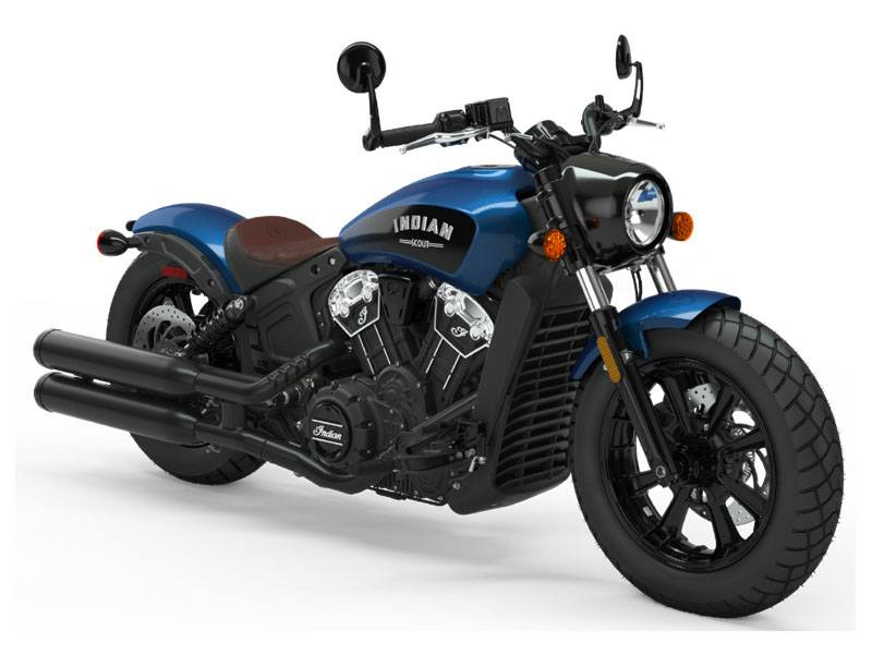 2019 Indian Scout® Bobber ABS Icon Series in Ottumwa, Iowa - Photo 1