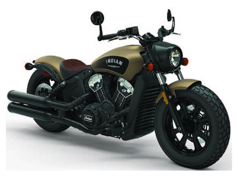 2020 Indian Scout® Bobber ABS Icon Series in Racine, Wisconsin - Photo 1