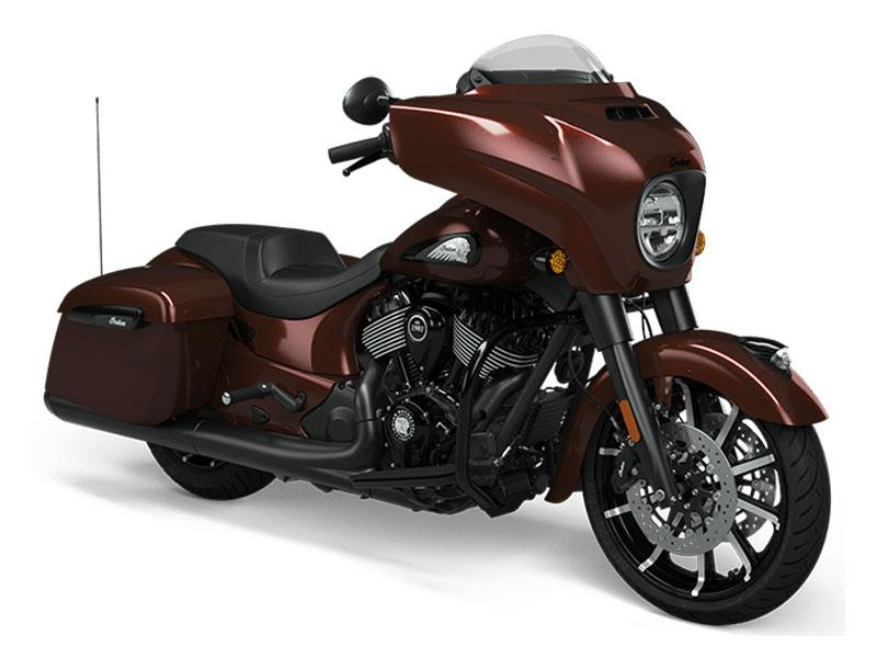 2021 Indian Chieftain® Dark Horse® Icon in Broken Arrow, Oklahoma - Photo 1