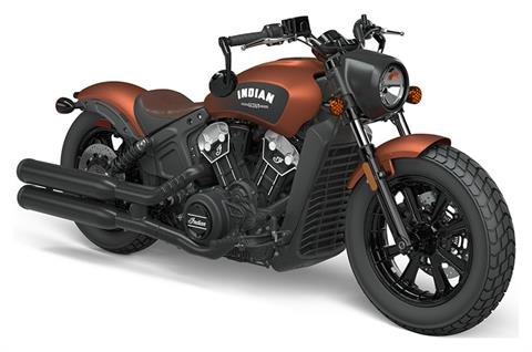 2021 Indian Scout® Bobber ABS Icon in O Fallon, Illinois - Photo 1