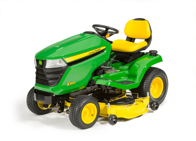2016 john deere x300 48 in lawn mowers traverse city. Black Bedroom Furniture Sets. Home Design Ideas