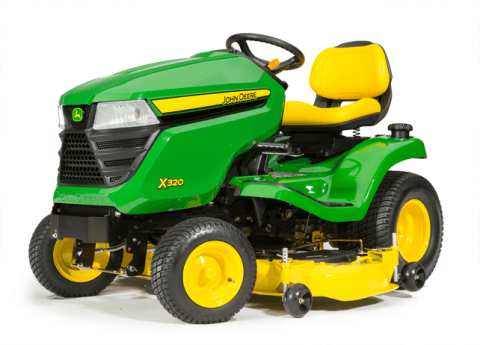 2016 John Deere X320 (48 in.) in Traverse City, Michigan
