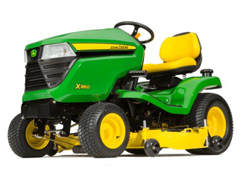 2016 John Deere X360 in Traverse City, Michigan