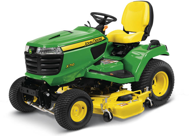 2016 John Deere X710 in Traverse City, Michigan