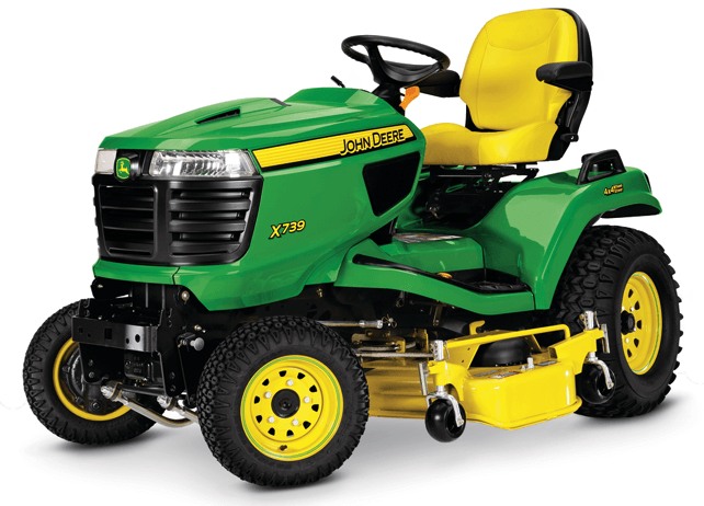 2016 John Deere X739 in Traverse City, Michigan
