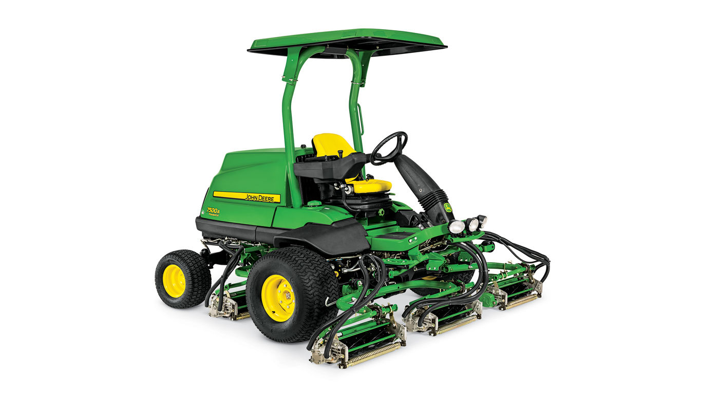 2017 John Deere 7500A Precision Cut Fairway Mower in Kerrville, Texas