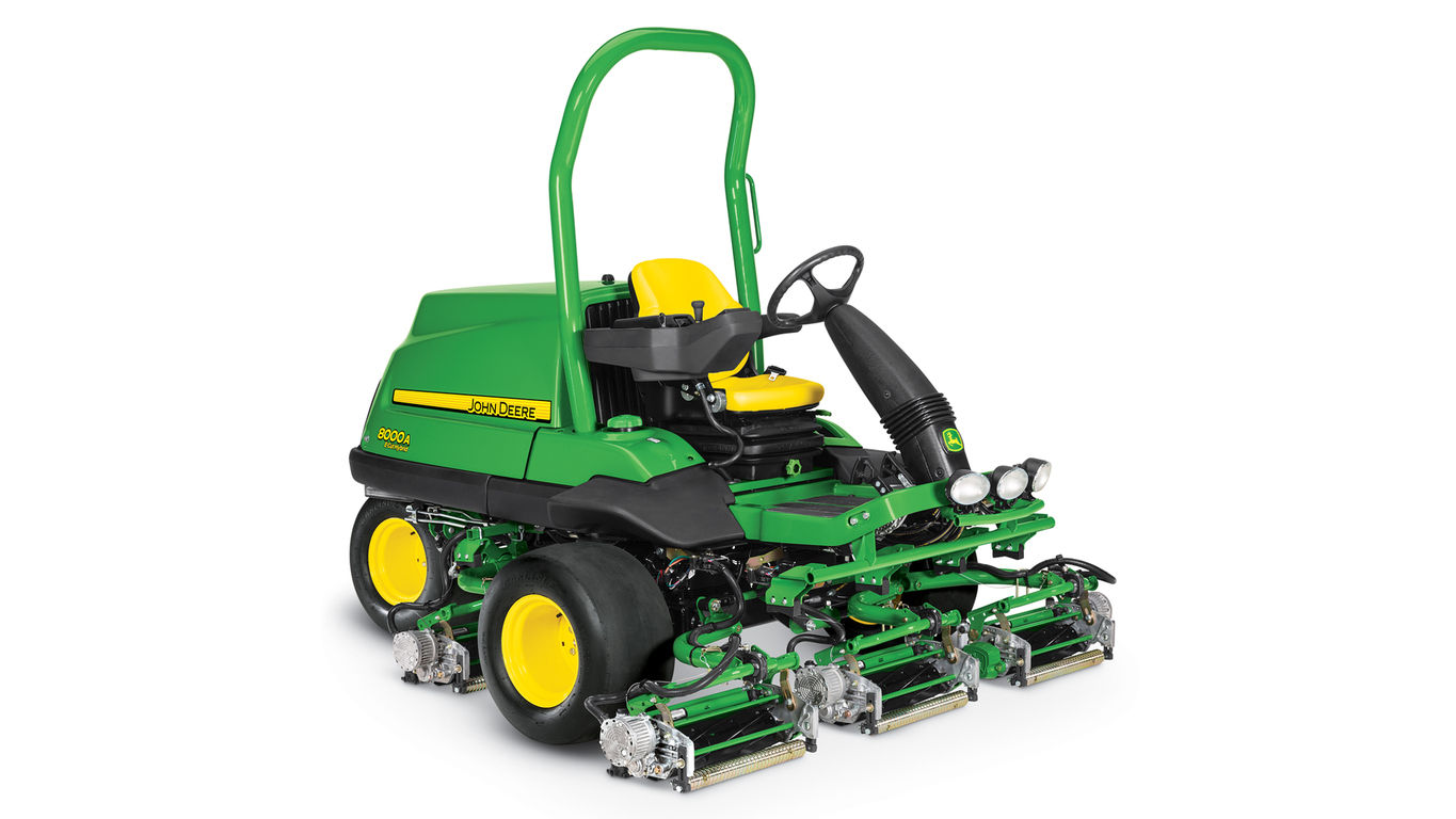 2017 John Deere 8000A E-Cut Hybrid Fairway Mower in Kerrville, Texas