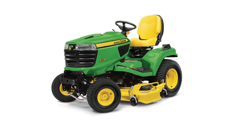 New 2017 John Deere X730 Signature Series Lawn Tractor Lawn Mowers