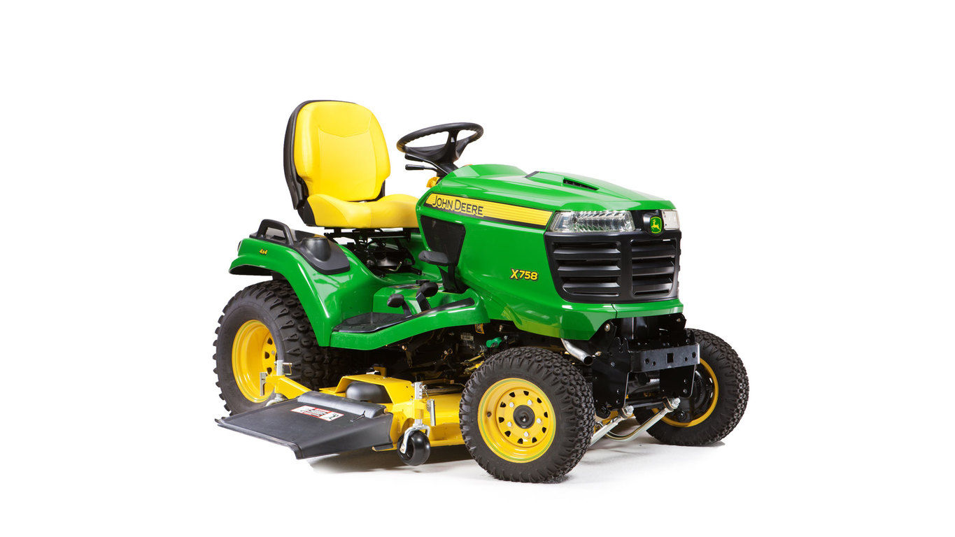 new 2017 john deere x758 signature series lawn tractor lawn mowers