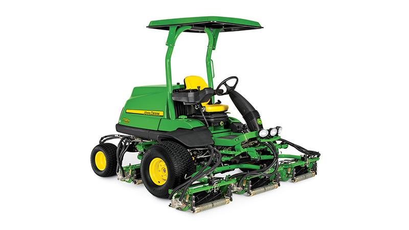 New 2018 John Deere 7700a Precision Cut Fairway Mower Lawn