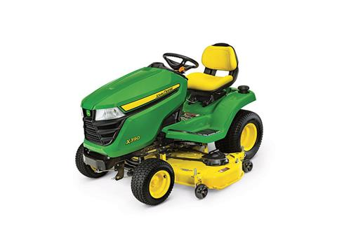 2018 John Deere X390 Lawn Tractor with 54 in. Deck in Sparks, Nevada