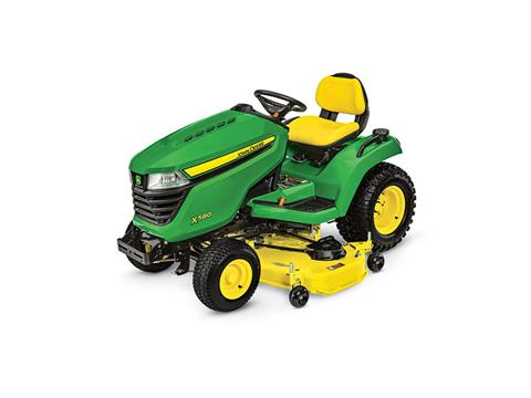 2018 John Deere X580 Lawn Tractor with 54 in. Deck in Sparks, Nevada