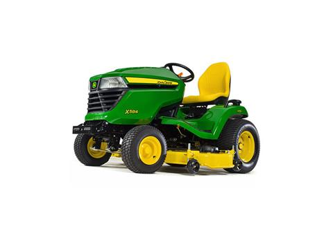 2018 John Deere X584 Lawn Tractor with 48 in. Deck in Sparks, Nevada