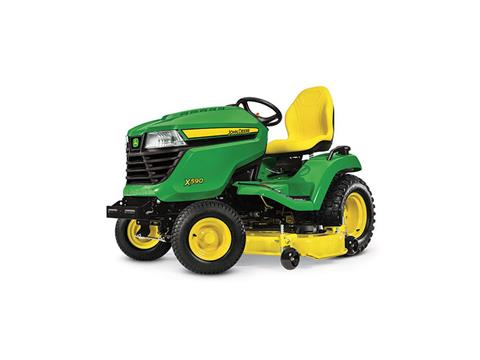 2018 John Deere X590 Lawn Tractor with 54 in. Deck in Sparks, Nevada