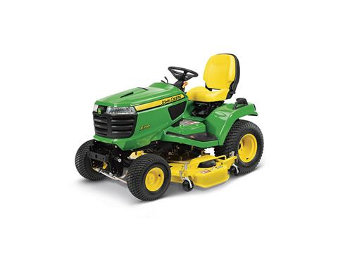 2018 John Deere X710 Signature Series Lawn Tractor in Sparks, Nevada