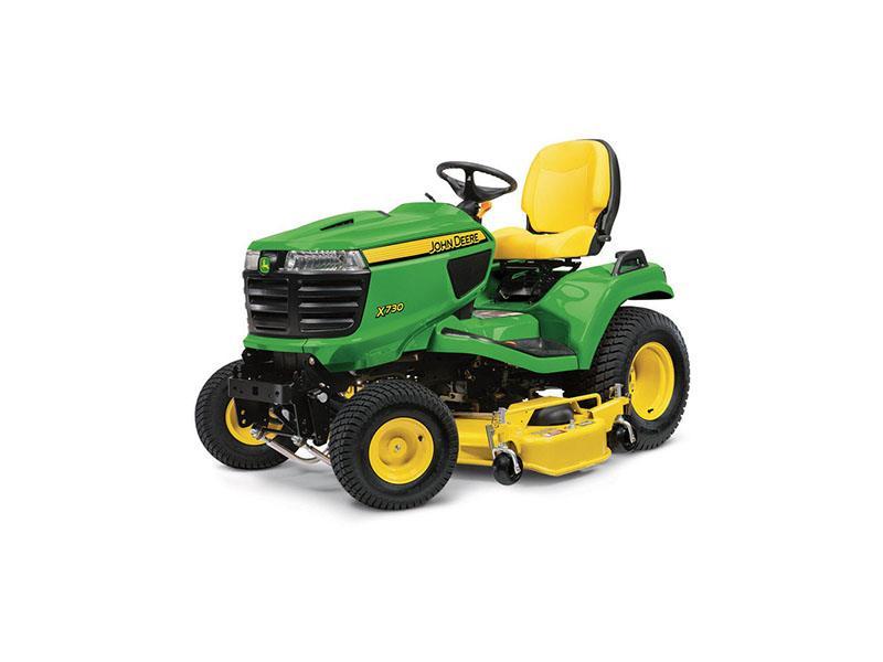 New 2018 John Deere X730 Signature Series Lawn Tractor